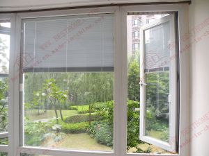 Aluminium Casement Window with Built-in Blinds (BHA-CW25) pictures & photos