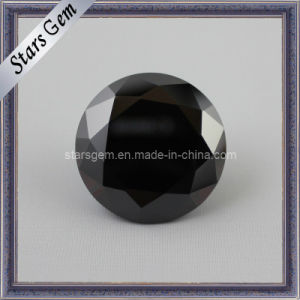 Black Color Synthetic CZ Gemstone pictures & photos