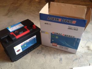 DIN75mf 12V75ah Maintenance Free Lead Acid Car Storage Battery pictures & photos