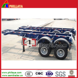 40 Ton Skeleton Trailer for Container Transportation Container Chassis pictures & photos