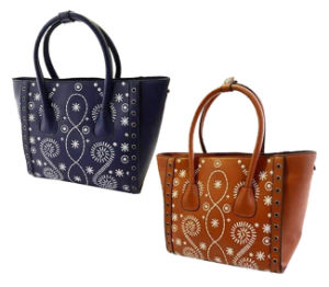 Newest Fashion Handbag Embroidery Lady Designer Handbag Cc42-130