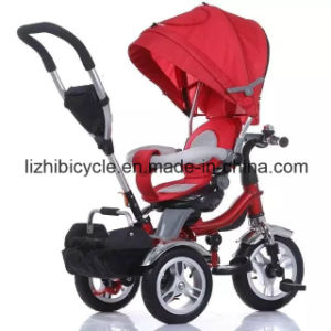 2016 New High Quality Multifunction Kids Tricycle with Sunshade pictures & photos