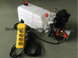DC12V Double Acting Hydraulic Power Pump Unint W/ Wireless Remote Controller pictures & photos