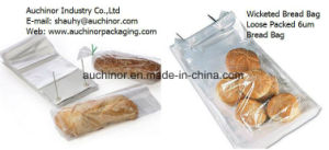 Clear Plastic Wicketed Bread Bag Bakery Bag pictures & photos