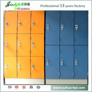 Solid Phenolic Compact Laminate Employee Lockers pictures & photos