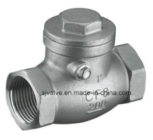 Female Thread Swing Check Valve pictures & photos