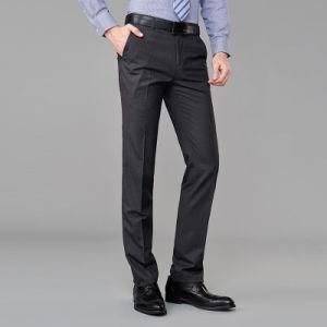 Plus Size Men Latest Design Formal Cotton Pants pictures & photos