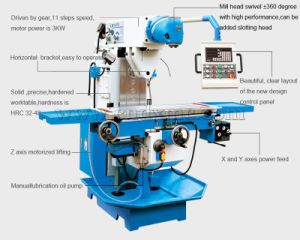 Machine Tool Equipment Lm1450 High Precision China Milling Machine
