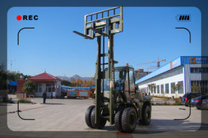 Cpcy50 Rough Terrain Forklift; All Terrain Forklift; 4X4 Forklift pictures & photos