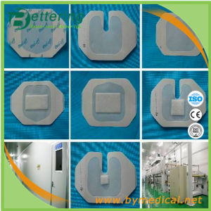 Frame Shape Transparent Semi-Permeable Wound Dressing pictures & photos