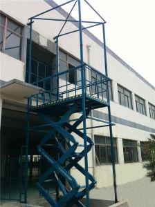 Warehouse Hydraulic Scissor Cargo Lift (SJG2-9) pictures & photos