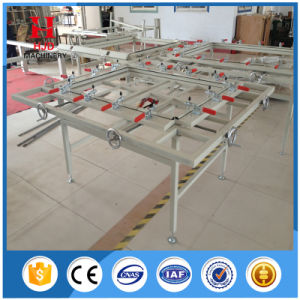 Hjd-E202 Manual Clamp Screen Stretching Machine Stretcher Machine pictures & photos