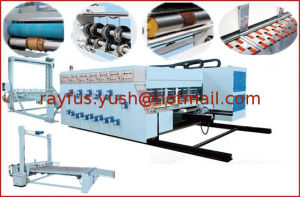 Automatic Flexo Printing Die-Cutter with Removable Slotting pictures & photos