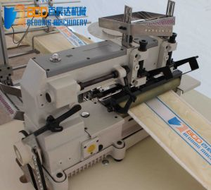 Mattress Border Logo Tape Attaching Machine (BZF) pictures & photos