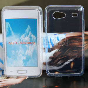 High Quality Full Transparent Soft TPU Mobile Phone Case for Samsung Galaxy S Advance I9070