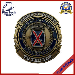 3D Zinc Alloy Die Cast Coin, 2-Side Soft Enamel Coin pictures & photos