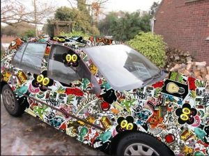 Car Decoration Sticker pictures & photos