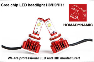 2016 Most Popular Auto Accessories V16 H7 Crees LED Headlight H1 H4 H7 H11 9005 9006 pictures & photos
