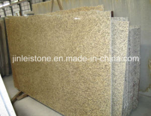 Tiger Skin Yellow Granite Slab for Countertop or Island Top pictures & photos