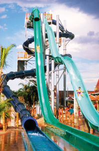 Crazy Freefall for Water Park