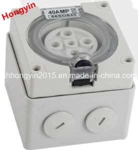 500V 20A 5pins Australia Standard IP66 Waterproof Industrial Socket Outlet pictures & photos