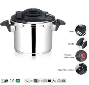 High Quality 304 Steel Advanced Pressure Cooker with Easy Open Lid pictures & photos