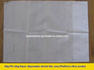 Disposable Plastic Bibs for Adults pictures & photos