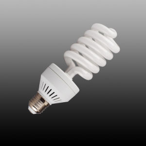Half Spiral Fluorescent Light, CFL Bulb, Energy Saving Bulb (18-26W) pictures & photos