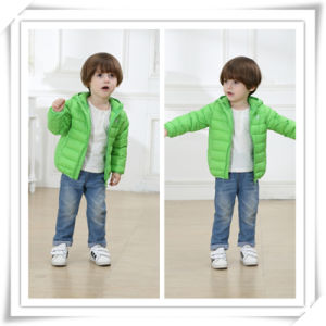 Children Boy Girl Kids Feather Coat Clothes Down Jacket Fashion Type 605 pictures & photos