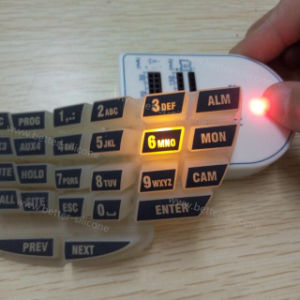 Laser Cutter Marking Engraving Etched Silicone Rubber Keypad pictures & photos