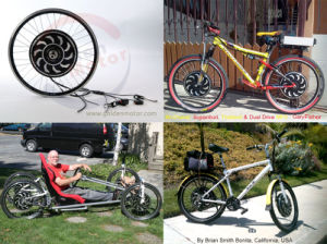 Programmable 1000W Electric Bike Kits pictures & photos