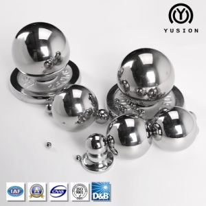 Yusion 4.7625mm-150mm Low Carbon Steel Ball (G50-G1000) for Bearing pictures & photos
