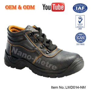 Nmsafety Heel Shock Absorb Cow Leather S3 Standard Work Shoes pictures & photos