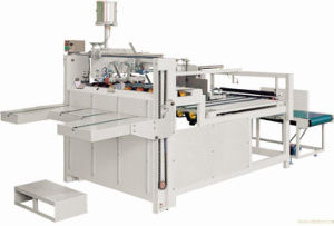 Semi-Automatic Corrugated Box Folder Glue Machine pictures & photos