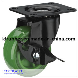 High Quality PU Caster Wheel for Trolley Wheel pictures & photos