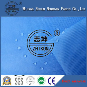 SMS/SMMS/SMMS Blue Color Non-Woven Fabrics pictures & photos