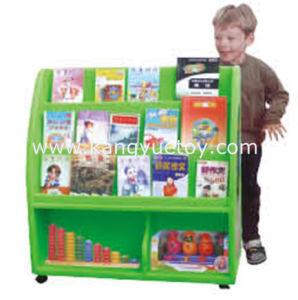 Wholesale Children Bookshelf, Children Bookcase in Plastic Design