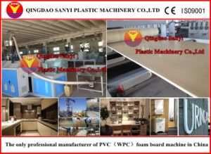 Innovative PVC Crust Foam Board Extrusion Line pictures & photos