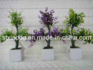 Artificial Plastic Tree Potted Flower (C0364)