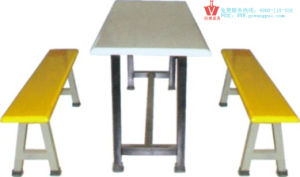 Durable Fast Food Table and Chair (WP10-8013)