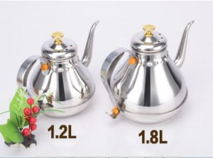 1800ml Stainless Steel Palace Kettle Water Kettle (CS-029) pictures & photos