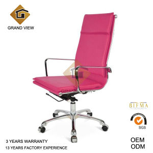 Pink Leather Swivel Office Furniture Chair (GV-OC-H305) pictures & photos