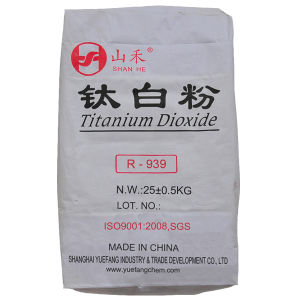 White Titanium Dioxide Rutile R-939 Powder pictures & photos