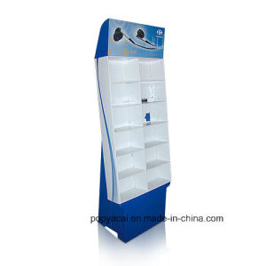 Earplus Promotion Cardboard Display Shelf/Sidekick Display Stands pictures & photos