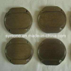 OEM Iron Sand Casting Plate Parts with CNC Machining pictures & photos