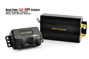 Real-Time Car GPS Tracker with External GSM and GPS Antenna