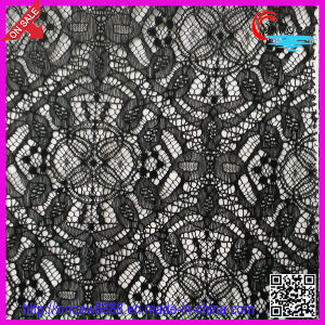 Black Polyester Lace pictures & photos