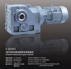 K Helical Bevel Gearbox K37-K187