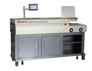 Hot Glue Binding Machine Wd-600m pictures & photos