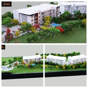 1: 125 Architectural Model Making, Residential Model with Landscaping Highlighted (JW-319) pictures & photos